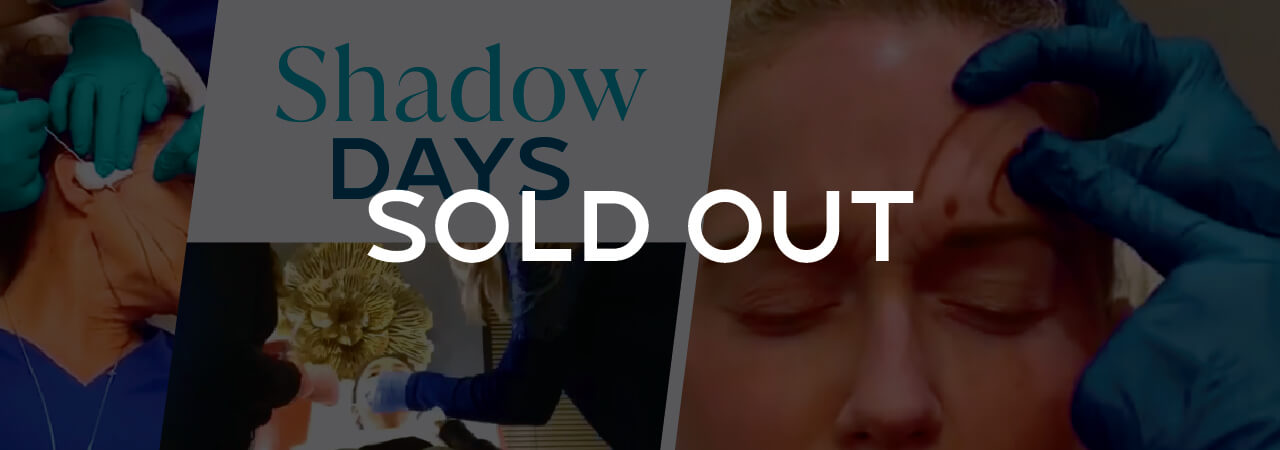 SOLD OUT Shadow Days