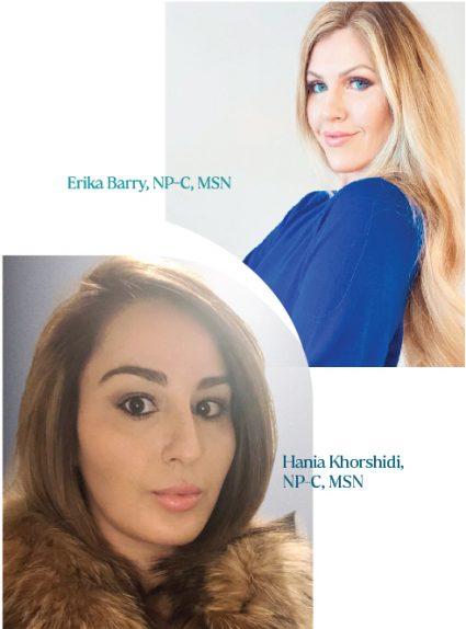 Erika Barry and Hania Khorshidi